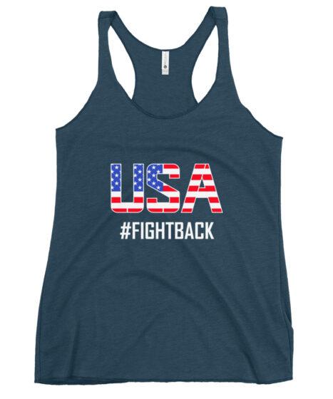 USA Fightback Women's Racerback Tank