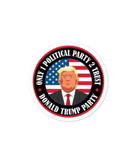 Donald Trump Party ( MAGA) Bubble-free stickers