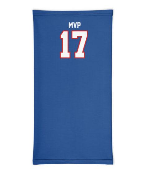 Josh Allen #17 MVP  Neck Gaiter