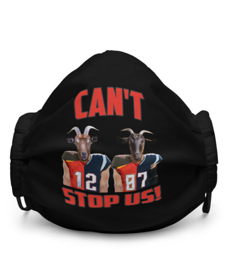 Can't Stop Us: Brady & Gronk Premium face mask
