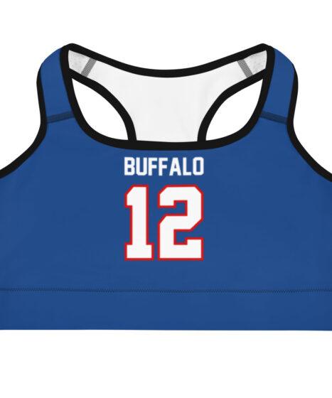 Buffalo Bills #12 Sports bra