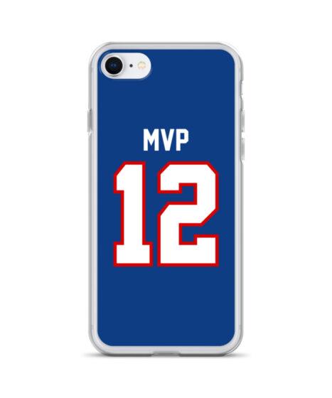 Buffalo Bills #12 MVP iPhone Case