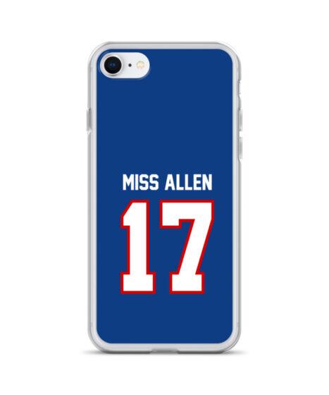 Buffalo Bills #17 Miss Allen iPhone Case