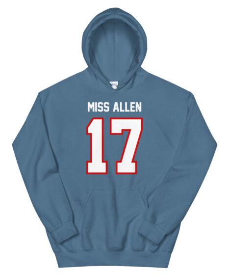 Buffalo Bills #17 Miss Allen Unisex Hoodie