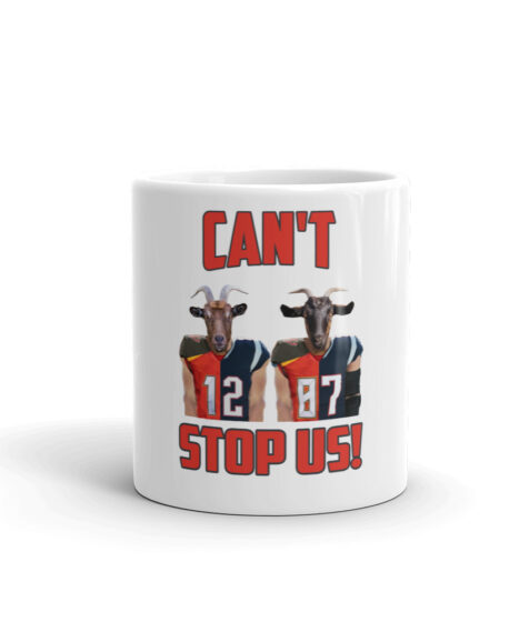 Can't Stop Us: Brady & Gronk Mug