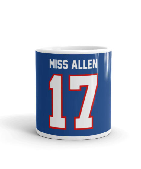 Buffalo Bills Miss Allen #17 Mug