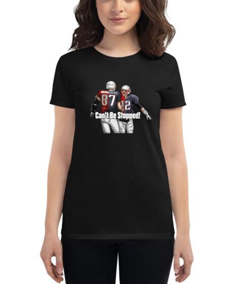 Can't Stop Us: Brady & Gronk Women's short sleeve t-shirt