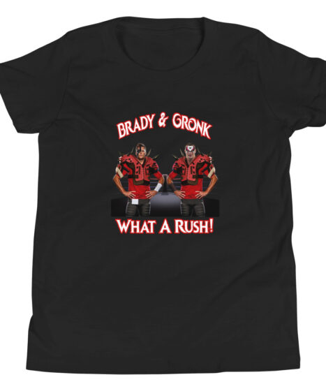 Brady & Gronk: What A Rush Youth Short Sleeve T-Shirt
