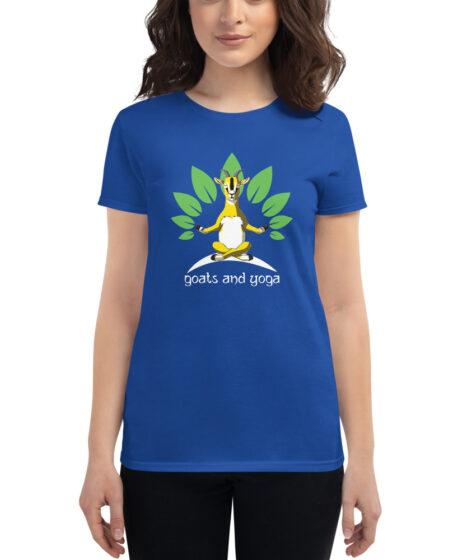 Goats and Yoga Women's short sleeve t-shirt